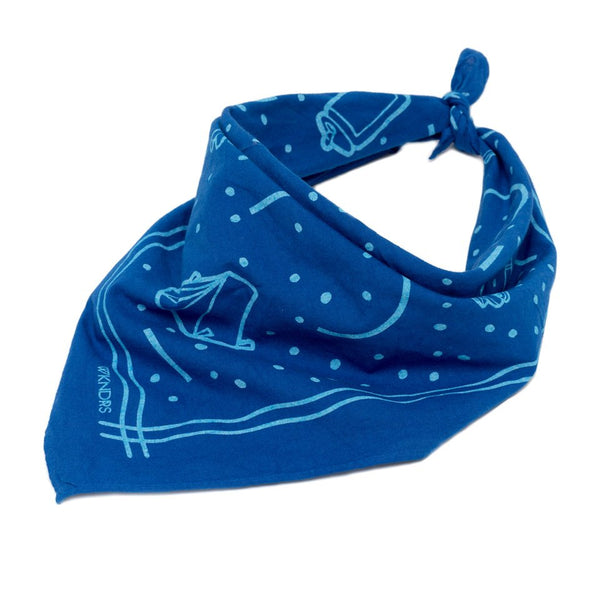 Hot Doggin' Cotton Bandana