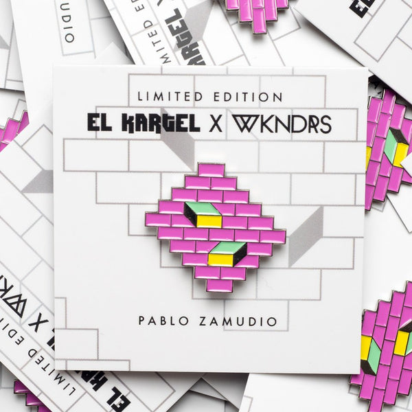 Pablo Zamudio*Limited Edition Pin