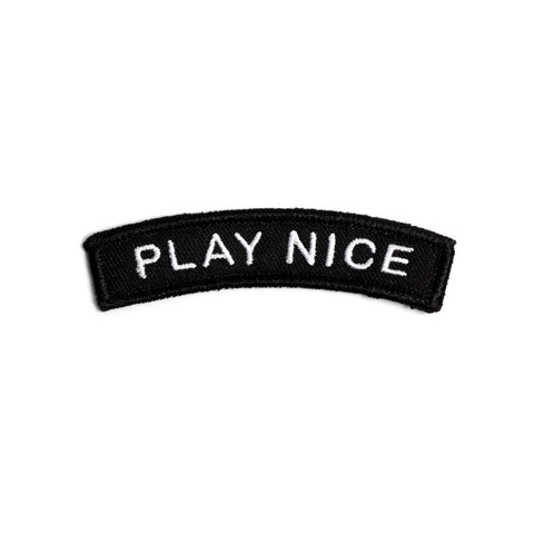 Play Nice Patch