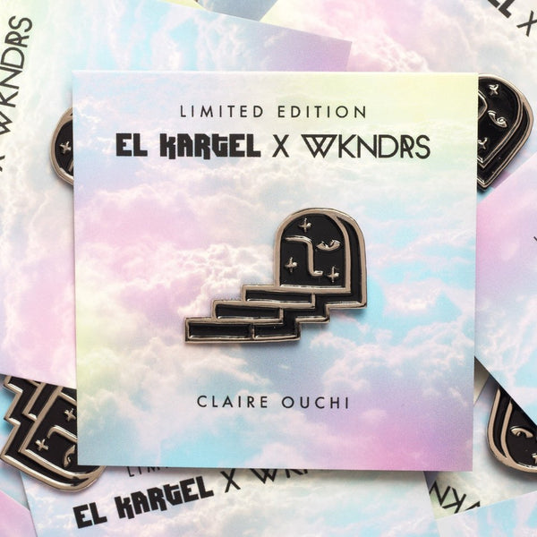 Claire Ouchi*Limited Edition Pin