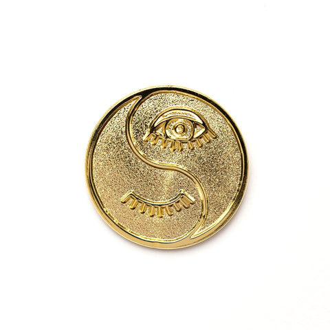 Karma Payment*Gold Pin