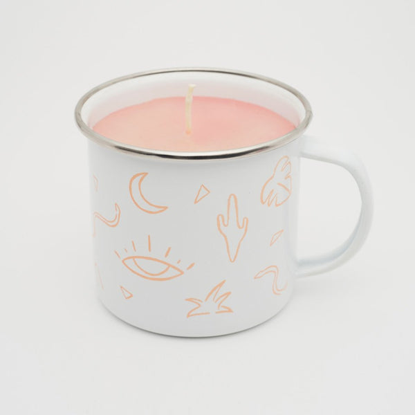 Badlands Enamel Camp Mug Candle