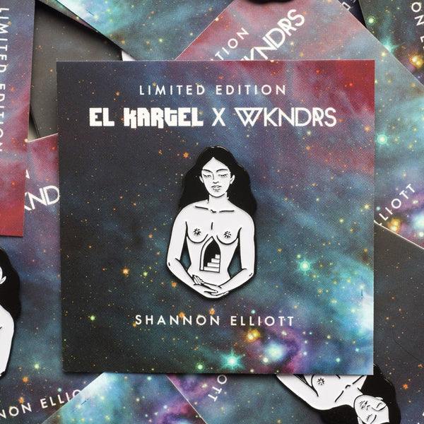 Shannon Elliott*Limited Edition Pin