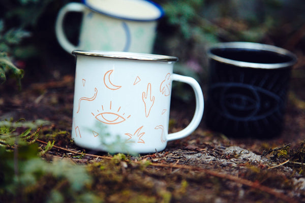 Badlands Enamel Camp Mug