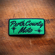 Perth County Moto Rectangle Patch