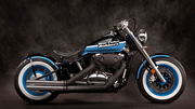 Blue Collar Bobbers - Black Nickel Front Light Kit