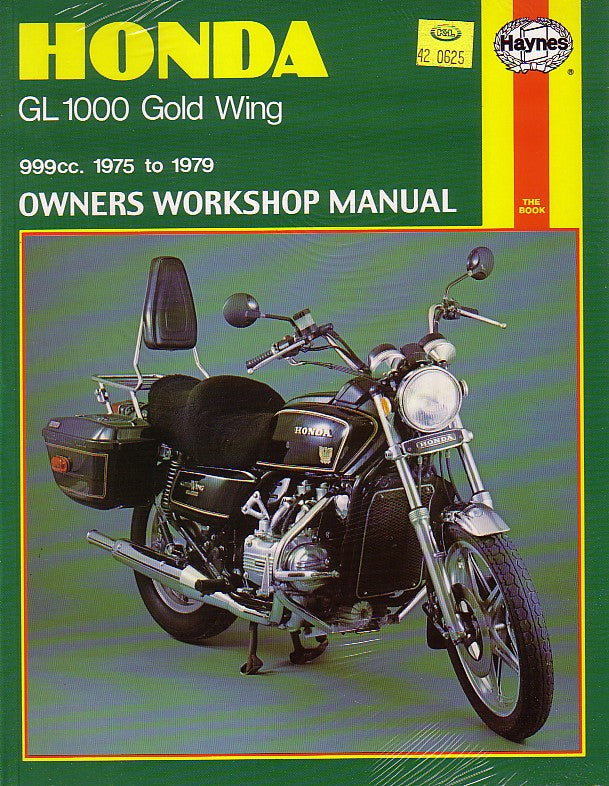 Haynes - HONDA GL1000 GOLD WING REPAIR MANUAL 1975 - 1979