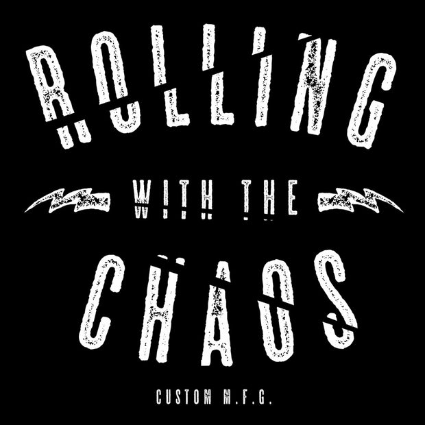 Rolling Chaos Men's Rolling With The Chaos Tee