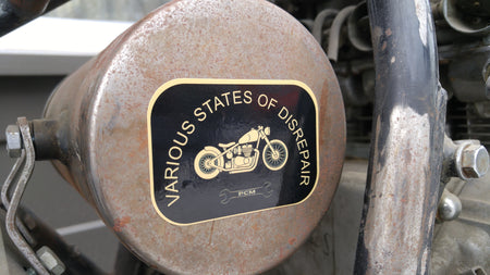 Perth County Moto - Disrepair Sticker