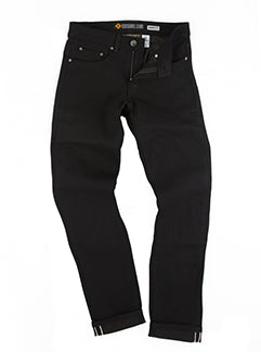 Resurgence Gear - Ladies Cafe Racer Jeans Straight Fit  (Black)