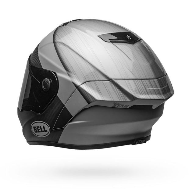 Bell Race Star Flex DLX - Surge Brushed Metal Grey