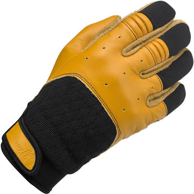 Biltwell-BANTAM GLOVES - TAN/BLACK