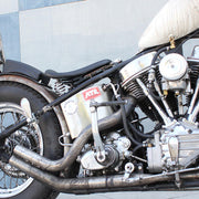 Biltwell Harlot Pillion Pad - Horizontal Tuck N' Roll