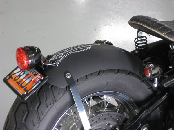 Blue Collar Bobber - Fender Mount Tail Light