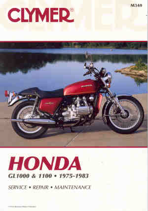 CLYMER HONDA GL1000 GL1100 REPAIR MANUAL