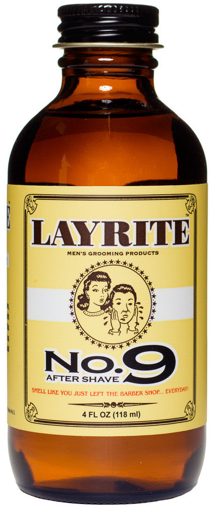 Layrite - No. 9 Bay Rum Aftershave