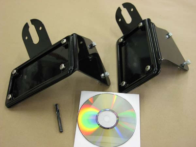 Blue Collar Bobbers - Light/Plate Bracket Vulcan 800/400