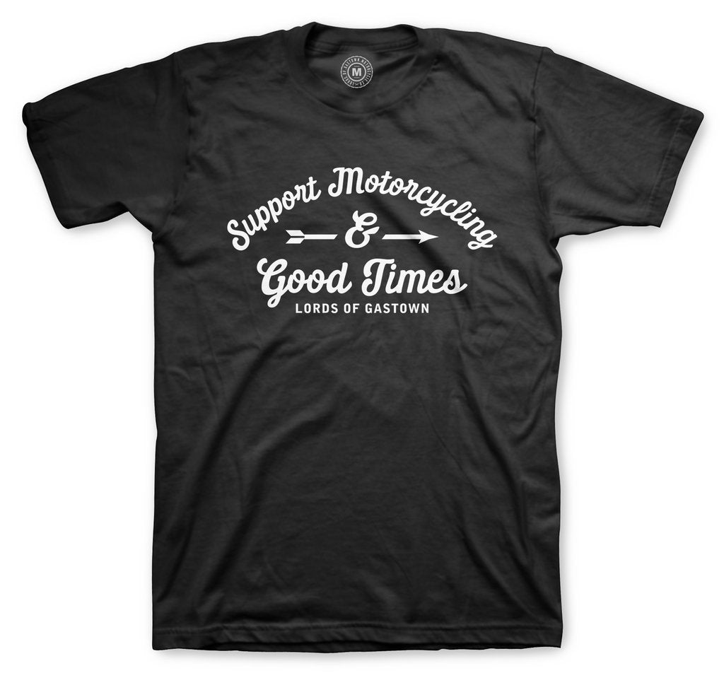 Lords of Gastown - Support Motorcycling Tee