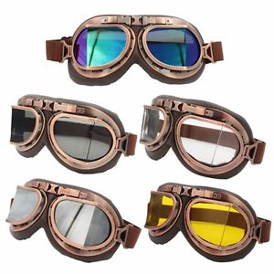 Vintage Style Motorcycle Goggles