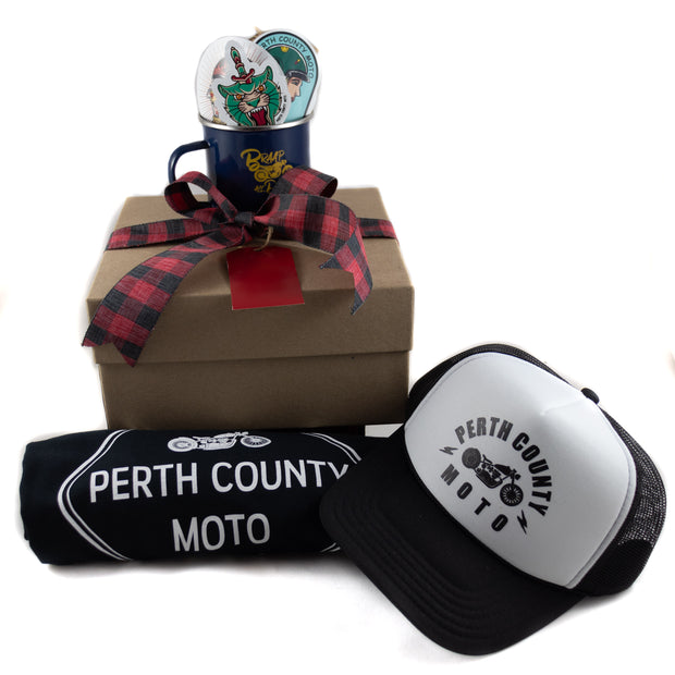 Perth County Moto Ultimate Gift Box - Howl At The Moon Tee
