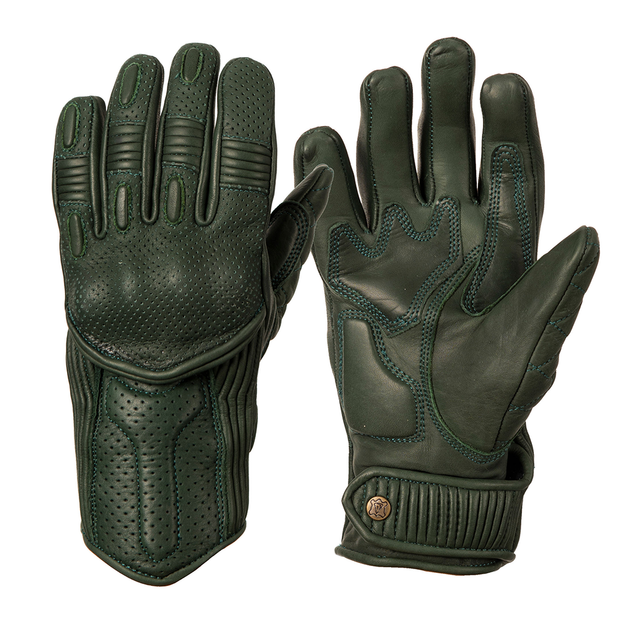 Goldtop England Ladies Silk Lined Predator Gloves - Racing Green