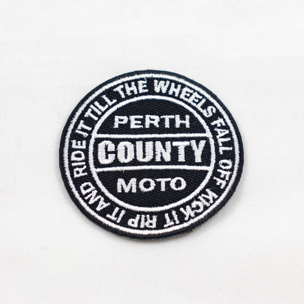 Perth County Moto Kick It Patch