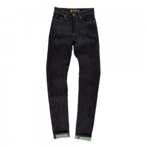 Resurgence Gear - Ladies Cafe Racer Jeans Straight Fit  (Blue)