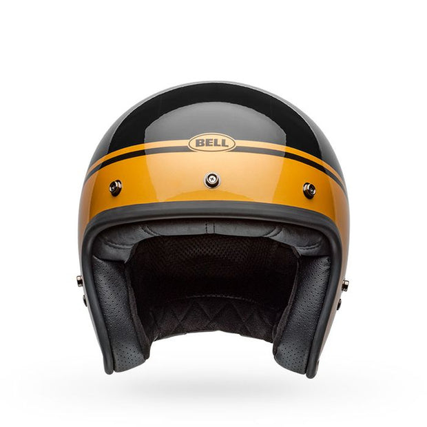 Bell Custom 500 - Streak Gloss Black/Gold
