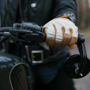 Biltwell Bantam Gloves - White/Tan