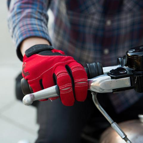 Biltwell - Moto Gloves Red/Black