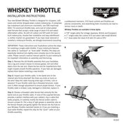 Biltwell Whiskey Throttle 7/8""