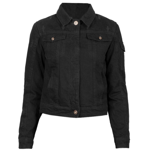 Black Arrow Nowhere Bound Motorcycle Jacket
