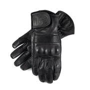 Black Arrow Queen Bee Motorcycle Gloves - Black