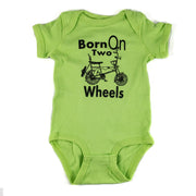 Perth County Moto Baby Onesie - Key Lime Green