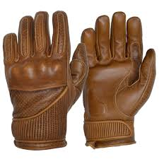 Goldtop England The Silk Lined Viceroy Gloves - Waxed Brown