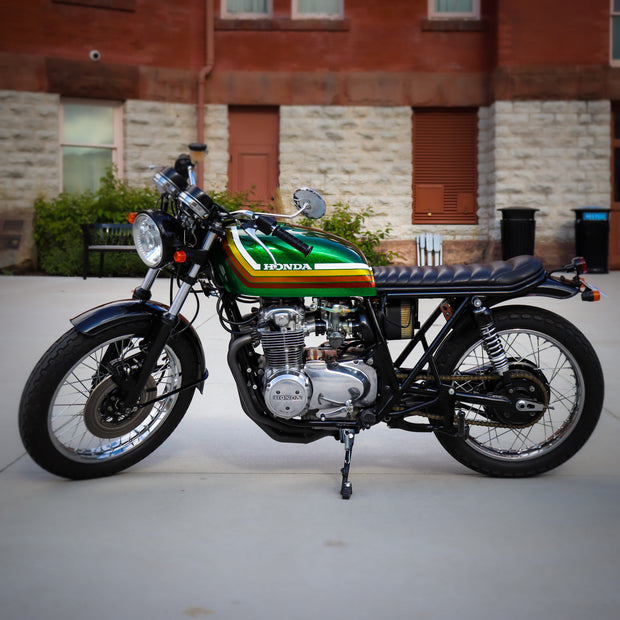 Midnight Oil CB550 Scrambler