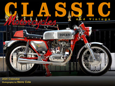 Classic and Vintage Motorcycle Calendar