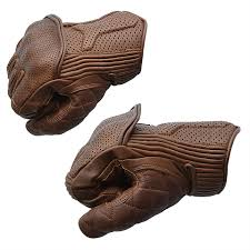 Goldtop England Silk Lined Predator Gloves - Brown