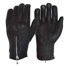Goldtop England Silk Lined Raptor Glove - Black
