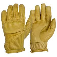 Goldtop England The Silk Lined Viceroy Gloves - Waxed Tan