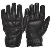 Goldtop England The Silk Lined Viceroy Gloves - Black