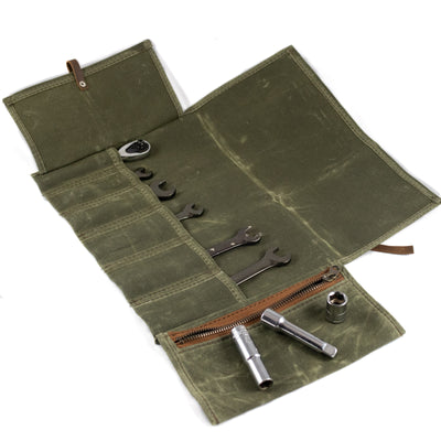 Haversack Tool Roll - Green