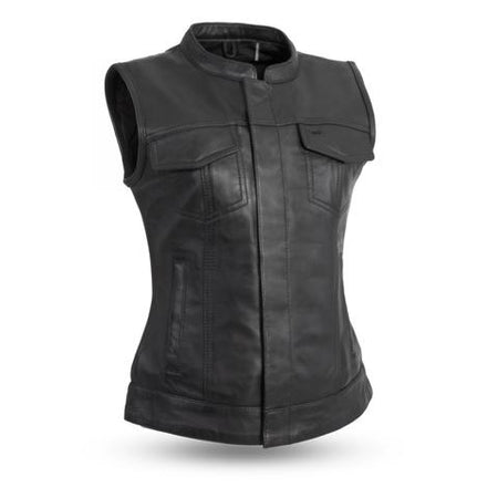 *Perth County Moto - Margerite Leather Vest