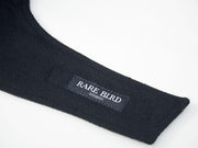 Rare Bird London All Black Tweed Face Mask