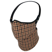 Rare Bird London Classic Check Tweed Face Mask