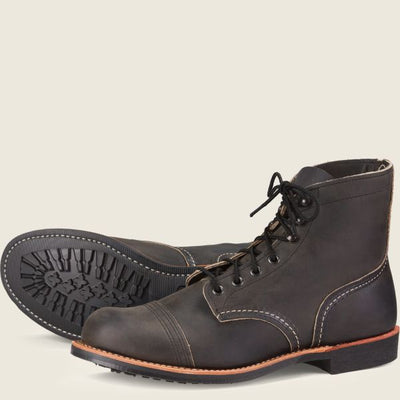 Red Wing Men's Iron Ranger - Charcoal