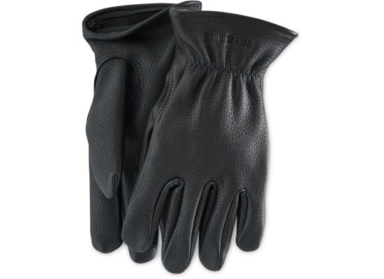 Red Wing Shoes - Lined Buckskin Gloves Black