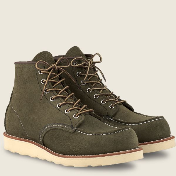 Red Wing Shoes Men's Classic Moc 6 Inch - London Abilene