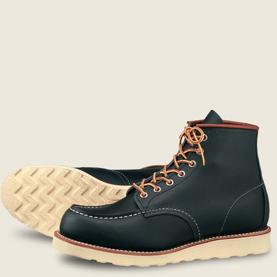 Red Wing Shoes Men's Classic Moc 6 Inch - Navy Portage
