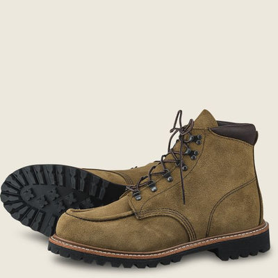 Red Wing Shoes Men's Sawmill 6-Inch - Olive Mohave